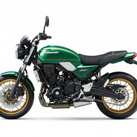 2022-Z650RS-Green-Left-Profile