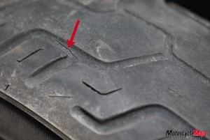 Rear tire maintenance