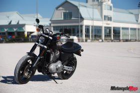 Photo shoot of the Harley Davidson XR1200