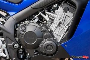 2014 Honda CBR650F engine