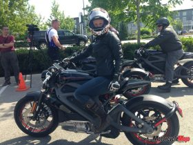 test ride of Harley-Davidson LiveWire Electric Motorcycle