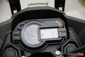 dash of Kawasaki Versys 1000