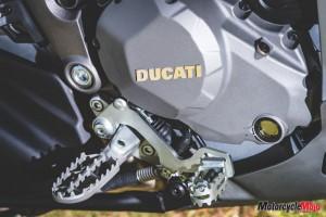 Engine of Ducati Multistrada
