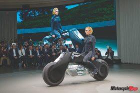 BMW showcases the future