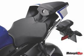 Seat of The 2017 Yamaha R6
