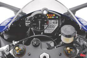 Dashboard of The 2017 Yamaha R6