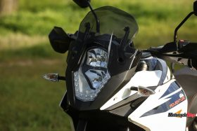 Front Lights of the 2017 KTM 1090 Adventure R