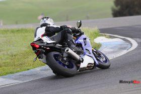 Racing on a 2017 Yamaha R6