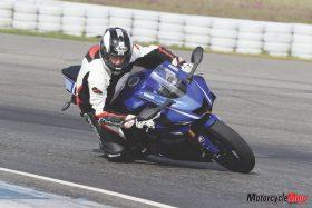 Riding a 2017 Yamaha R6