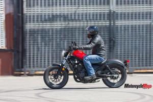 Honda Rebel Motorcycle Riding