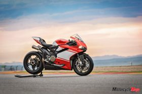 Ducati 1299 Superleggera in the Sunset