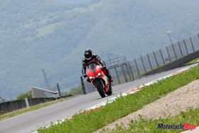 Riding the Ducati 1299 Superleggera on the Track