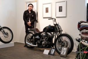 Marco Luk and his Custom Motorcycle