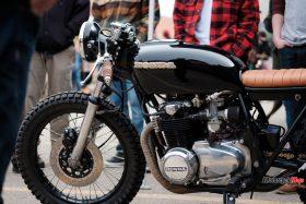 Custom Motorcycles on Display