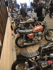 Custom Motorcycles at the OIl and Rust Motorcycle Show