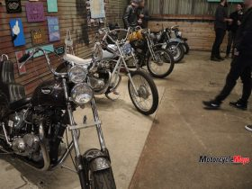 Custom Motorcycle Designs at the Oil and Rust Motorcycle Show