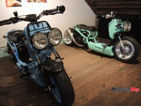 AMT Motorcycles at the Oil and Rust Motorcycle Show