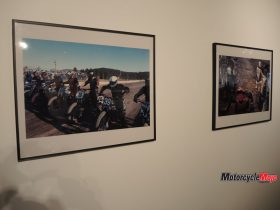 Artwork at The Oil and Rust Motorcycle Show