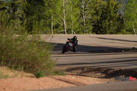 Riding a 2015 KTM Super Duke 1290R By Many Trees