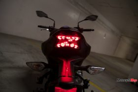 Tail Light of the Kawasaki Z900 ABS