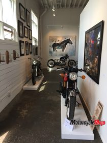 Motorcycles on Display at Kickstart 2017