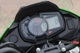 Speedometer of the 2017 Kawasaki Versys-X 300