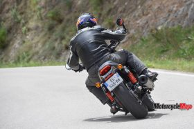 The 2017 Harley Davidson Street Rod on the Highway
