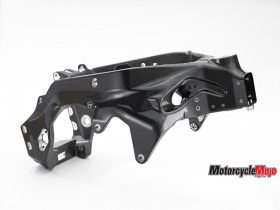 The Frame of The 2018 BMW HP4 Race