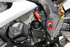 The Engine of The 2018 BMW HP4 Race