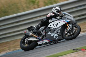 Speeding on The 2018 BMW HP4 Race