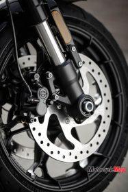 The Wheel of the 2017 Harley Davidson Street Rod