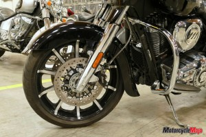 The Front Wheel of The 2017 Indian Roadmaster