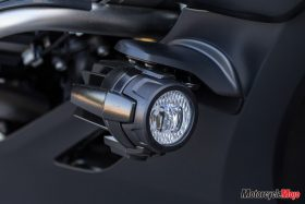 Light of the 2018 BMW K1600B Bagger