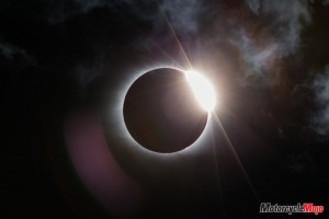 Riding Through a Solar Eclipse on the 2018 BMW K1600B Bagger