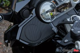 Speakers of the 2018 BMW K1600B Bagger