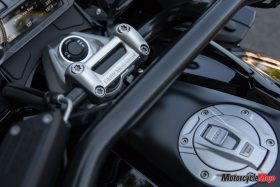 Ignition of the 2018 BMW K1600B Bagger