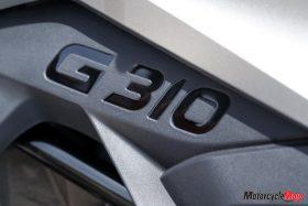 The 2018 BMW G310GS Logo