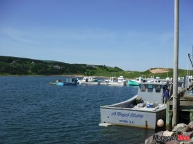 Boats on the Waters by Cabot Trail