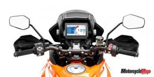 Speedometer of the 2018 KTM 1290 Super Adventure S