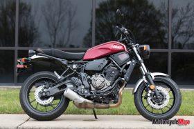 The 2018 Yamaha XSR700