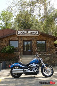 H-D Low Rider At Rock Store