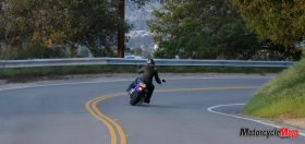 Riding the 2018 H-D Softail Low Rider on a Highway