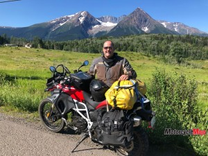 Motorcycle Riding in the Yukon
