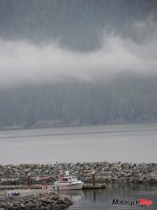 Rain on Vancouver Island
