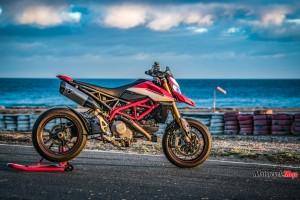 2019 Ducati Hypermotard by the Sea