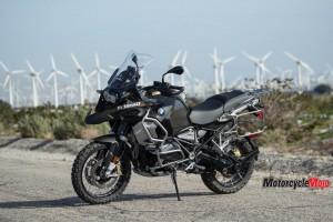 2019 BMW 1250 in front of Wind Generators
